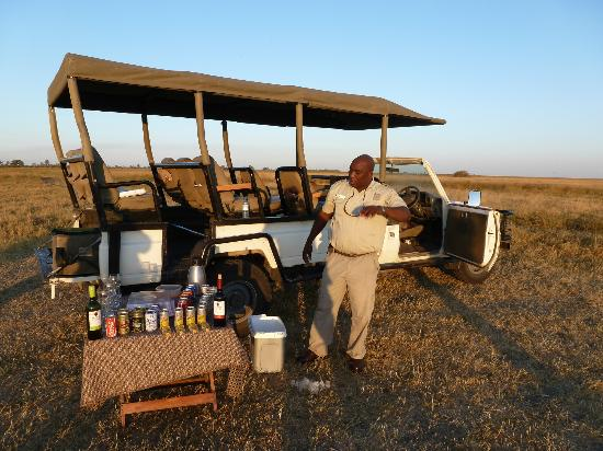Savute Safari Lodge: Sundowner