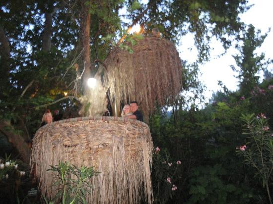 Akkaya Garden Restaurant: one of the 'pods'
