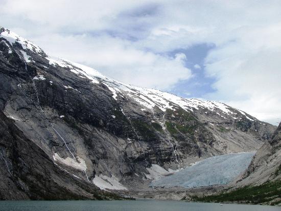 Nigardsbreen Glacier: View of glacier