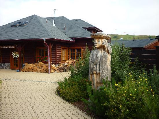 Sojka resort: INGANG HOTEL