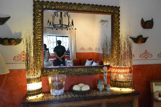 Casa Verde Inn: interno camera & gabri