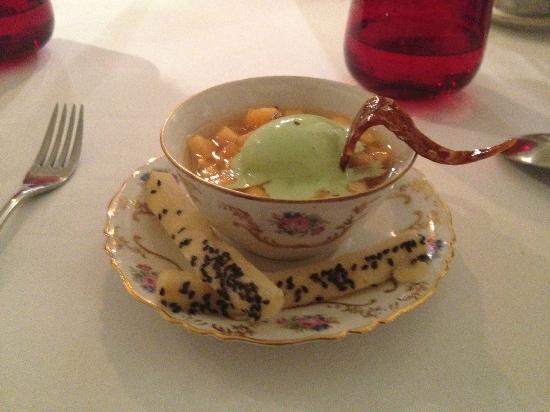 La Raison Gourmande : Melon glacé a la glace Basilic