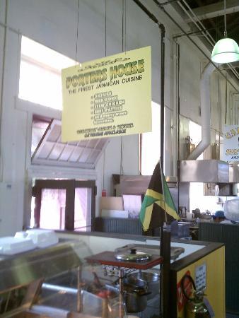 Broad Street Market: Jamaican Restaurant