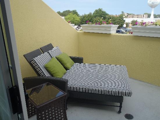 Hotel Rehoboth: balconey