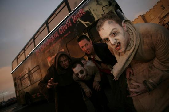 The Gravedigger Bus Tour