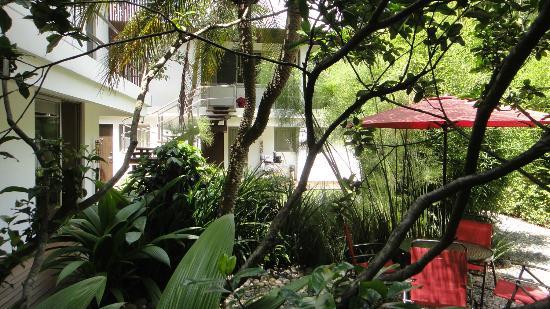 La Inmaculada Hotel : View from restaurant/bar