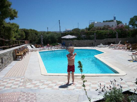 Pandrossos Hotel: LOVELY POOL