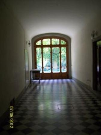 Le Tre Stanze: corridor to Garden Suite entrance