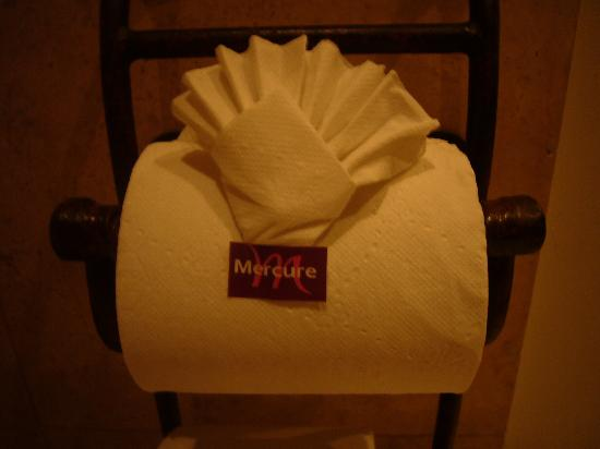 Mercure Casa Veranda Guatemala: Toilet paper!