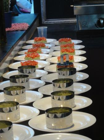 Verargues, France: Le tartare de saumon revisité