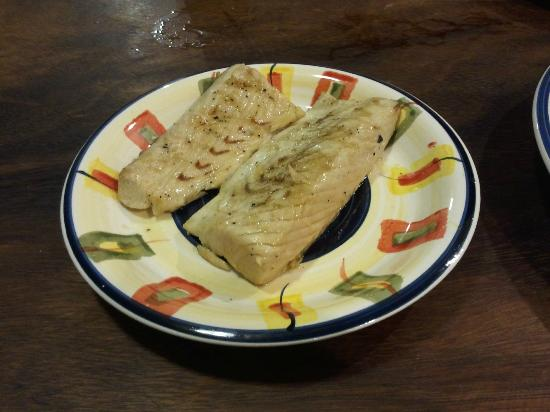 Two Brothers Surf Resort: Catch of the Day: Henry's Mackerel Filets!