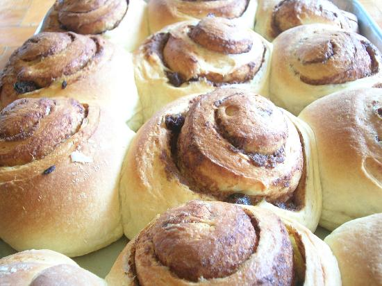 West Park Cafè : Cinnamon Rolls