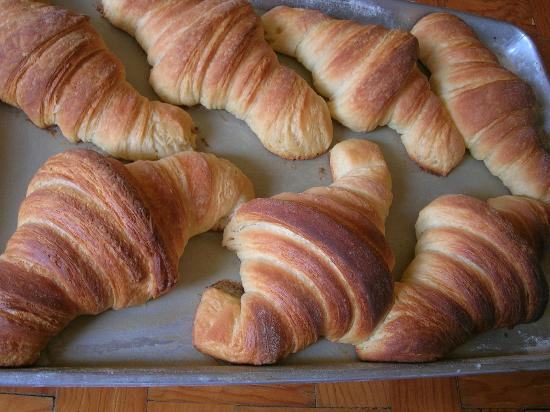 West Park Cafè: Croissants