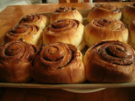 West Park Cafè: Cinnamon Rolls