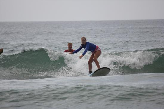 WB Surf Camp: Catching the waves was so much fun!