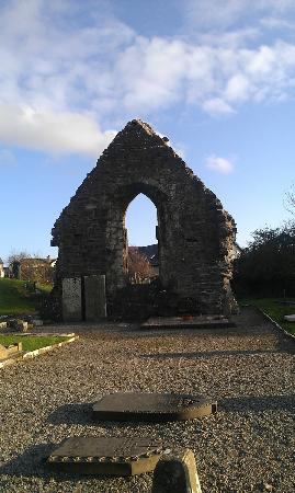 Donegal Town, Irlandia: Wall of the Abbey