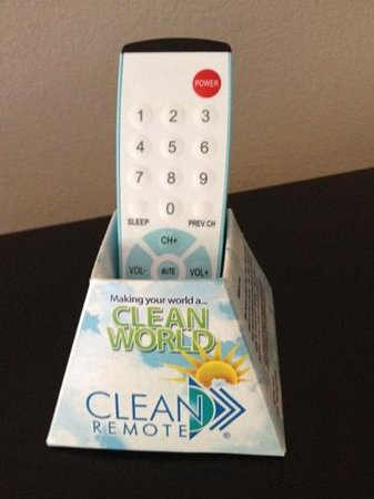 BEST WESTERN Dutch Valley Inn: interesting clean remotes!