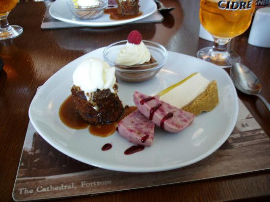 Crofter's Bistro Open Again 7th March: An Assiette of sweets....yummo!