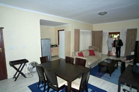 Kleinbosch Lodge: Wohnzimmer