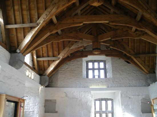 Donegal Town, Irlandia: Ceiling in Castle