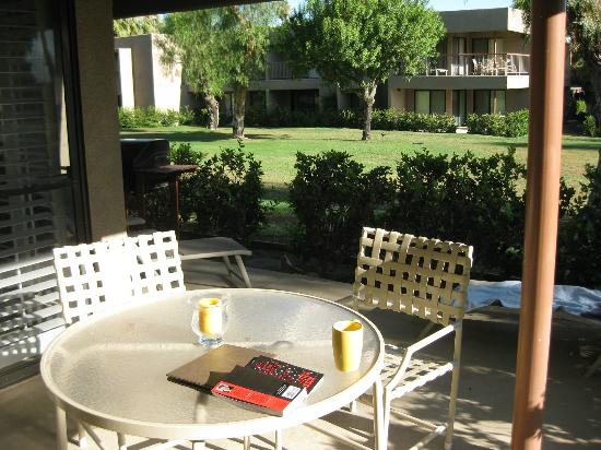 Shadow Mountain Resort and Club: patio