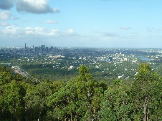 City Sights Hop On Hop Off-Day Bus Tours: Brisbane from Mt Coot-tha