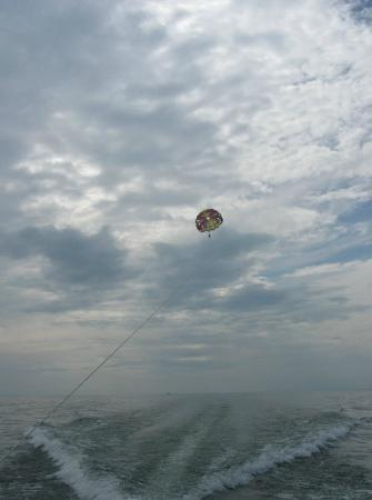 Put in Bay Parasail: A beautiful photo of that day parasailing