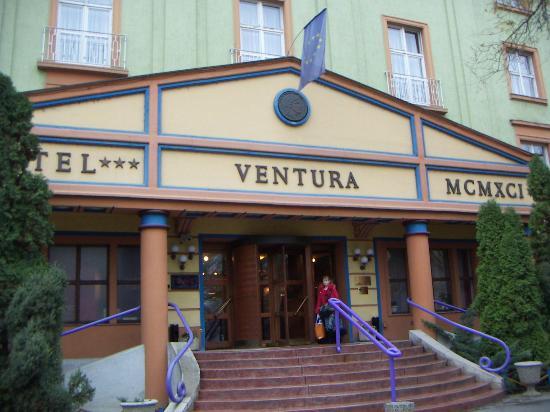 Hotel Ventura, Budapest.