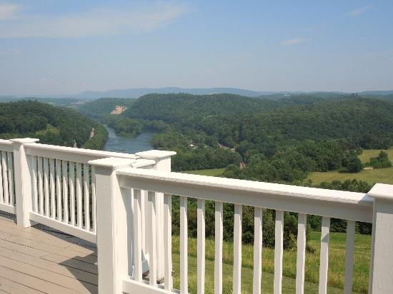 Inn at Riverbend: From the deck.
