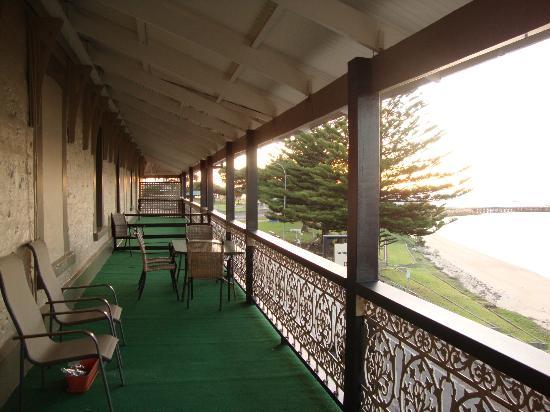 Aurora Ozone Hotel: la terrazza