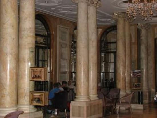 Athenee Palace Hilton Bucharest: Inside the lounge