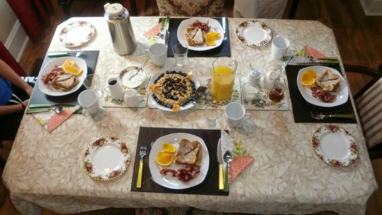 ‪‪Nine Gables B&B‬: Breakfast.