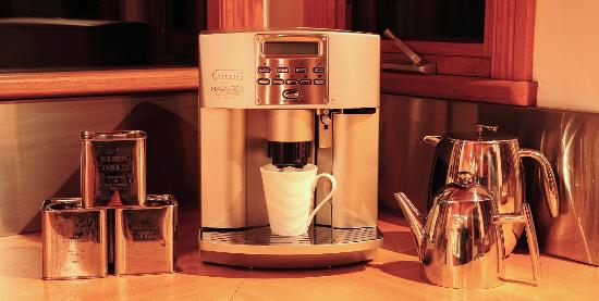 The Peninsula Experience: fully automatic coffee machine..