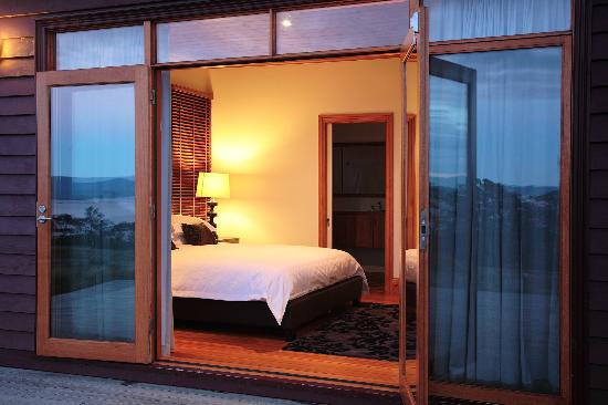 The Peninsula Experience: bedroom access to the deck