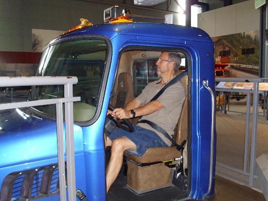 America on Wheels Museum : Interactive displays