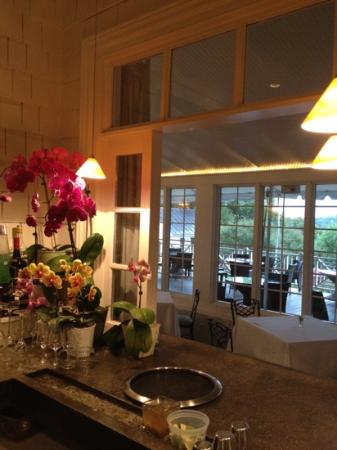 Clifton Inn: a look out from the 3 stool bar