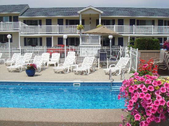 Footbridge Beach Motel: Outdoor pool