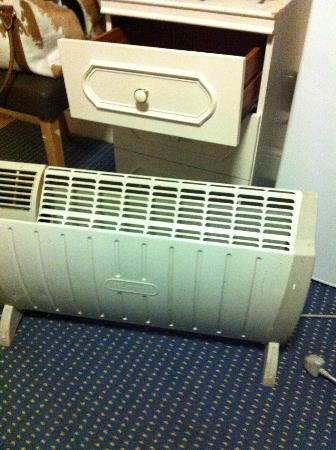 Golders Green Hotel : the only heating