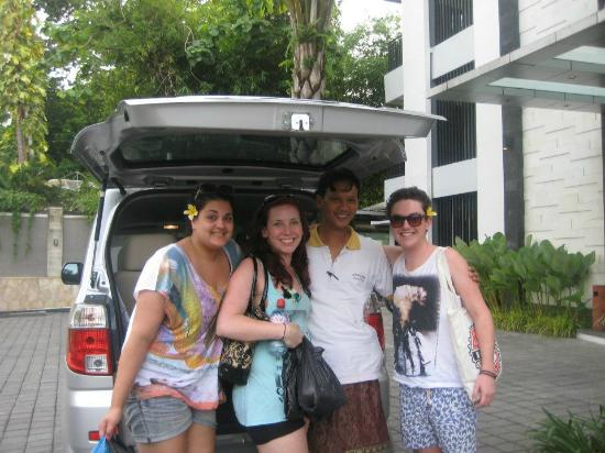 Umalas Hotel and Residence: Our wonderful driver