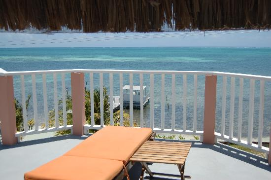 Caye Caulker Condos: Rooftop Patio