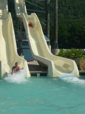 DelGrosso's Amusement Park: adult and older kids slides 