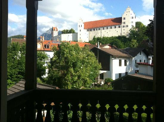 Hotel Fantasia: view from the balcony, really lovely 