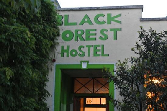 The Black Forest Hostel: Black Forest Hostel entrance