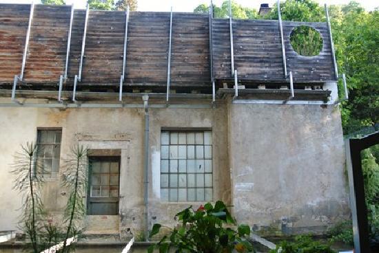 The Black Forest Hostel: Black Forest Hostel from kitchen at back #3