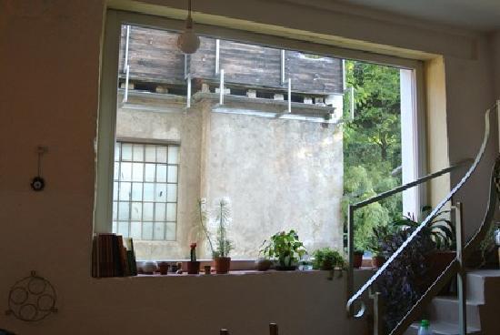The Black Forest Hostel: Black Forest Hostel from kitchen at back #4