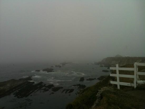 Stanford Inn by the Sea: Mendo in the mist
