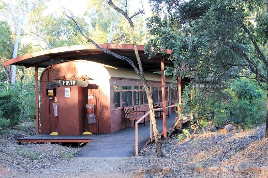 Undara Experience: Red Rattler accommodation - Undara Wilderness Lodge, Undara NP Qld Au
