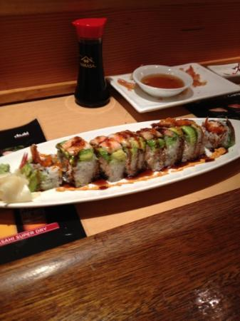AnnasAsianHouse: super dragon roll