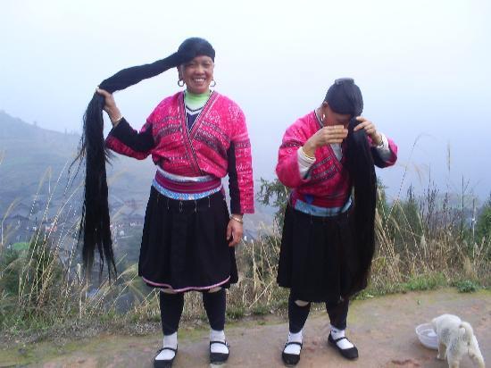 Leader Guest House Longsheng Longji: Yao women