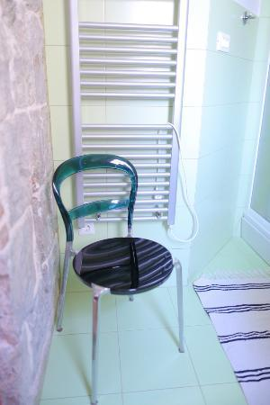 Boutique St.Luke Residence: This lovely chair is in toilet! I can't believe it!